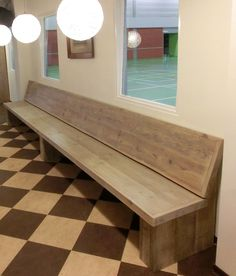 Restaurant Banquette, Restaurant Booth Seating, Corner Bench, Rustic Home Interiors, Outdoor Furniture, Outdoor Decor, Benches, Interior Inspiration, Gardening