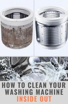 Best Cleaning Washing Machine Smell How To Get Rid 70 Ideas Smelly Washing Machines, Washing Machine Smell, Clean Your Washing Machine, Cleaning Washer Machine, Household Cleaning Schedule, House Cleaning Tips, Deep Cleaning, Cleaning Hacks, Cleaning Solutions