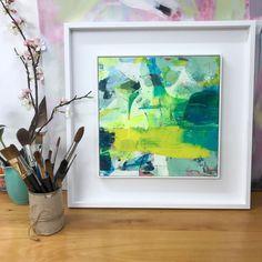 The Joy of a New Frame - Janette Phillips Modern Art, Contemporary Art, Abstract Art, Joy, Journal, Gallery, Frame, Artist, Artwork