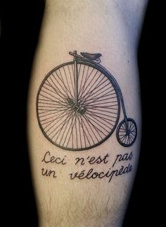 We get so many great pics of your bicycle tattoos and bicycle tattoo ideas that we are now having to find a way to group them. So welcome to our vintage bicycle tattoo gallery. Cycling Tattoo, Bicycle Tattoo, Bike Tattoos, Cool Tattoos, Tatoos, Bicycle Art, Awesome Tattoos, Denver, Ink Addiction