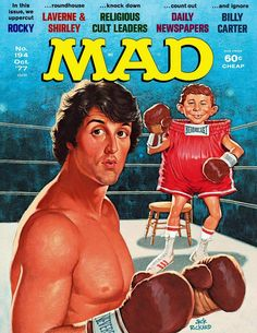 Mad world: See 30+ vintage MAD magazine covers, and find out the magazine's history, at Click Americana - #mad #madmagazine #vintagemagazines #oldmagazines #vintage #parody #humor #clickamericana