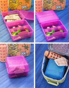The Sistema Klip-It containers and SugarBooger Lunch Totes rock for home lunch!