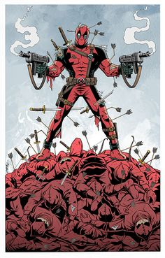 #Deadpool #Fan #Art. (Deadpool-vs-The Hand) By:93Cobra. (THE * 5 * STÅR * ÅWARD * OF: * AW YEAH, IT'S MAJOR ÅWESOMENESS!!!™)[THANK U 4 PINNING!!!<·><]<©>ÅÅÅ+(OB4E)