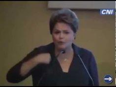 Dilma diz que 13 menos 4 é igual a 7