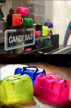 Transparent Furla Candy Bags