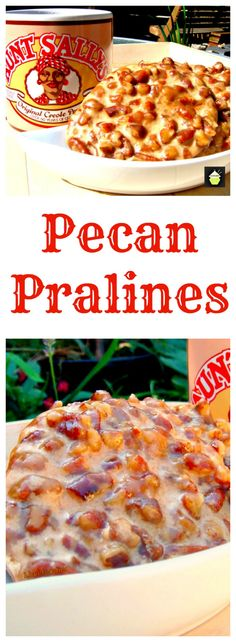 Pecan Pralines - A famous New Orlean's Institution!