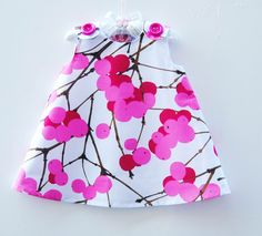 Marimekko Dress -  Infant Dress - Baby Shower - Speical Occasions  - Princess Dress - Handmade Childrens Fashion - 12M and 2T ONLY. $84.00, via Etsy.