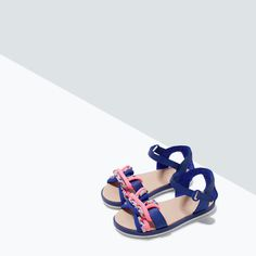 KNOTTED SANDAL-Shoes-Baby girl (3 months - 3 years)-KIDS | ZARA United States