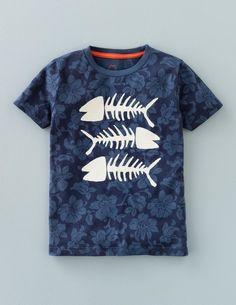 Adventure T-shirt (Storm Fish Bones)