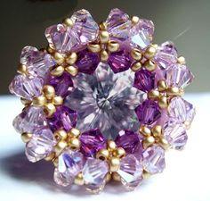 Schéma de bague en perles n°043, Bagues en perles, Schémas (gratuits) …