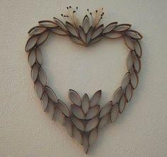 Herz recycelt, 28 Ideen für Valentine recycelten Materialien | Kunsthandwerk