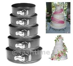 Non Stick Springform Cake Pan Baking Bake Round Tray Tins Wedding Party How To Make Wedding Cake, Thing 1, Round Tray, Cake Tins, Tray Bakes, Cake Decorating, Wedding Cakes, Baking, Spring Form