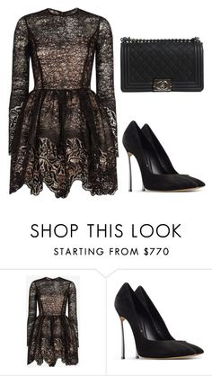 """""""Untitled #204"""" by jovanaaxx on Polyvore featuring Alexis, Casadei and Chanel"""