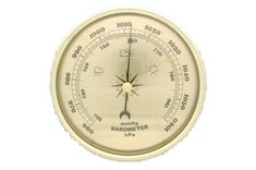 130mm Gold Dial Barometer #mayama #woodturningsupplies #projectparts #woodturning #projects #projectideas #diy #weather #weatherinstrument #thermometer Weather Instruments, Woodturning, Projects, Gold, Diy, Log Projects, Wood Turning, Blue Prints, Bricolage