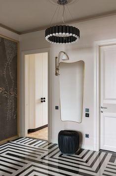 Contemporary Interior Design, Luxury Interior Design, Interior Design Inspiration, Contemporary Furniture, Contemporary Hallway, Hallway Designs, World Of Interiors, Modern Interiors, Top Interior Designers