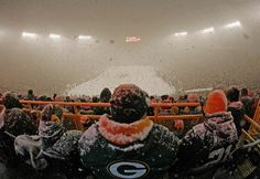 There's no place like Lambeau.