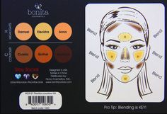 ORIGINAL BONITA Flawless Contour Kit Concealer Palette 6 Colors IN BOX makeup 6 Color specially formulated contour and highlight kit Detailed instruction guide included Works with variety of skin tones Highly pigmented and easily blendable Packaged in a sleek, convenient palette BONITA Flawless Contour Kit For a flawless look, our flawless contour kit includes 6 colors an allows for great coverage that higlights and contours the face in all the right Places. Includes easy to follow…