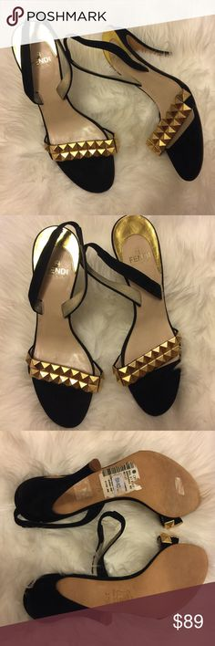 Vintage fendi women's heels Size 7.5 Minor signs of wear excellent pre-owned condition 4 in high Fendi Shoes Heels