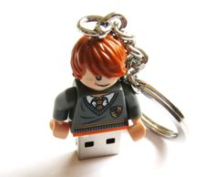 16GB USB Harry Potter - Ron Weasly Flash Drive. $40.00, via Etsy.