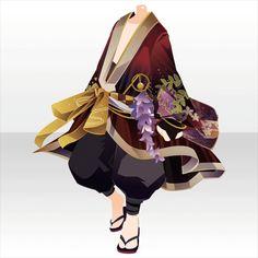 Kagura Mai in Flowers Kagura Mai Anime Outfits, Boy Outfits, Male Kimono, Clothing Sketches, Anime Dress, Cocoppa Play, Fantasy Dress, Cute Chibi, Drawing Clothes
