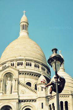 My favorite spot in Paris - Sacre Coeur Church