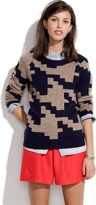 Madewell Puzzle sweater