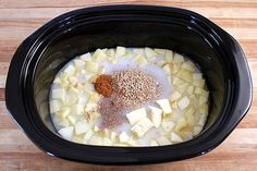 overnight apple cinnamon steel cut oatmeal.