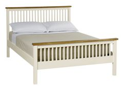 Classic contemporary style bedstead wth high foot end. Solid hardwood. Available…