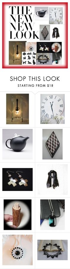 """New Look on Etsy"" by glowblocks ❤ liked on Polyvore featuring Cadeau"