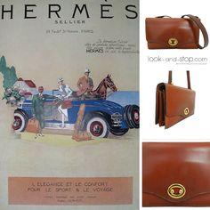 ¡Exclusiva en www.look-and-stop.com! Una joya como este Hermès vintage no se encuentra todos los días