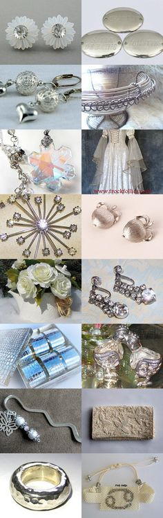 Silver is Better Than Gold  by lori planken on Etsy--Pinned with TreasuryPin.com