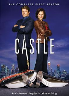 Castle: The Complete First Season (DVD)  Rick Castle (Nathan Fillion) is a smooth talker, a quick wit, and a great crime novelist. Possibly even too great: all around the city, bodies are dropping in exactly the ways he described in his latest book. Now, in order to stop the serial killer he inadvertently inspired, he?ll have to put his famous imagination to work for the NYPD--specifically detective Kate Beckett (Stana Katic), a tough investigator who doesn?t suffer fools.