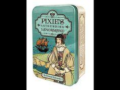 """Elementos do Tarot: """"Pixie's Astounding Lenormand"""": unboxing e comentá..."""