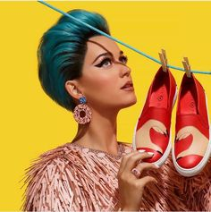 "Welcome To Megaisland.Com: Katy Perry is Launching a Vibrant New Line for ""Sh..."