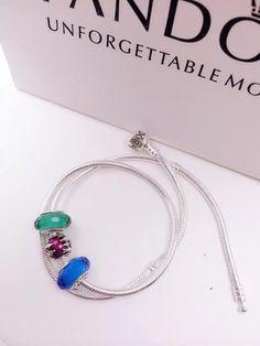 $119 Pandora Sterling Silver Charm Bracelet CB01058