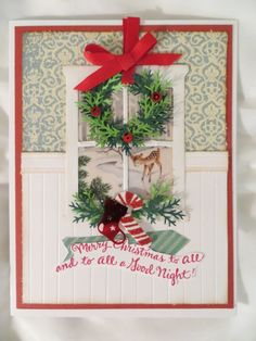 Winter Scene at Christmas by SusanBrockmann - Cards and Paper Crafts at Splitcoaststampers