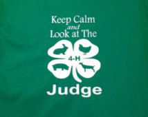 Keep Calm and Look at The Judge T-Shirt
