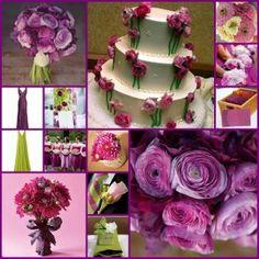 love the purple bouqet
