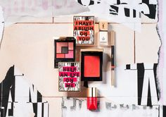 YSL The Street and I Collection Spring 2017 - Yves Saint Laurent is giving an exclusive first look at the upcoming YSL Street Art Spring 2017 Makeup Collect Travel Cosmetic Bags, Travel Toiletries, Make Up Collection, Spring Collection, Whats In My Makeup Bag, Look 2017, Saint Laurent, Ysl Beauty, Daily Beauty