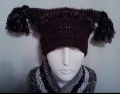 PDF Adult Tasseled Hat Crochet Pattern Super EASY by Shelleden