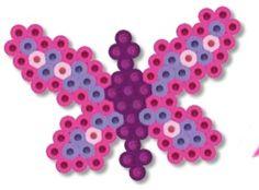 Butterflies Perler Bead Project Sheet