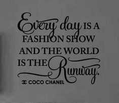Ideas for fashion quotes style awesome coco chanel Great Quotes, Quotes To Live By, Inspirational Quotes, Awesome Quotes, Motivational, English Frases, Famous Fashion Quotes, Coco Chanel Quotes, Wise Words