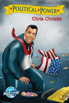Political Power: Chris Christie - cover B: Can Chris Christie navigate the often treacherous waters of presidential politics and remain New Jersey's favorite son? Read the story of Christie's rise to power, the formation of his political platform, and his devotion to his home state. New Jersey, and the country, are watching.