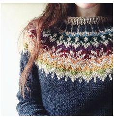 Tejido Fair Isle, Punto Fair Isle, Motif Fair Isle, Fair Isle Pattern, Fair Isle Knitting Patterns, Knit Patterns, Mode Crochet, Knit Crochet, Fair Isle Pullover