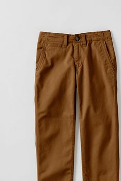 Boys' Iron Knee® Twill Cadet Pants from Lands' End