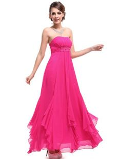 HE09765HP06, Magenta, 4US, Ever Pretty BNWT Rhinestones Chiffon Pinks Empire Line Bridesmaid Dress 09765 Ever-Pretty http://www.amazon.com/dp/B00I32QUPG/ref=cm_sw_r_pi_dp_tcchub08XHZJB