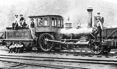 "Lehigh Valley Railroad's ""Lilliput""..built by the Mason Machine Works in 1862. Built new in that 2-2-0 configuration!"