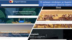 Δραστηριότητες, παιδαγωγικό και εποπτικό υλικό για το Νηπιαγωγείο & το Δημοτικό: Ιστοσελίδες ασφαλούς πλοήγησης σε δωρεάν εικόνες, φωτογραφικό υλικό & cliparts: 15 χρήσιμοι σύνδεσμοι For Everyone, Vector Free, Clip Art, Technology, Stock Photos, Education, Distance, Tech, Tecnologia