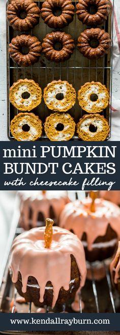 Mini Pumpkin Bundt C