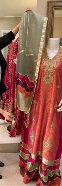 Latest Pakistani Dresses, Latest Bridal Dresses, Desi Wedding Dresses, Asian Wedding Dress, Pakistani Wedding Outfits, Pakistani Dress Design, Party Wear Dresses, Unique Dresses, Indian Outfits
